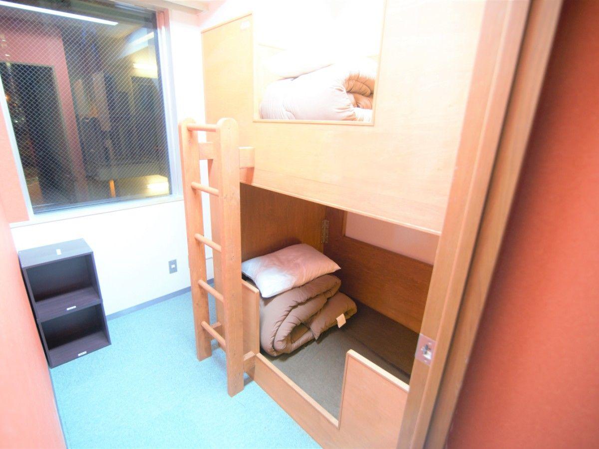 Female floor Bunk Bed Room